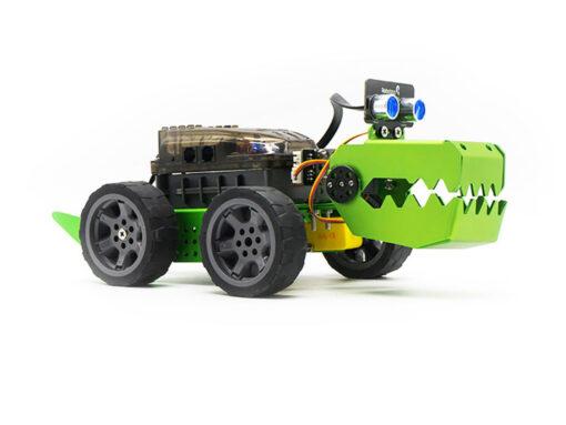 Q-Dino Metal Block Robot Kiti (Steam Robot)