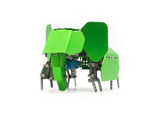 Q-Elephant Metal Block Robot Kiti