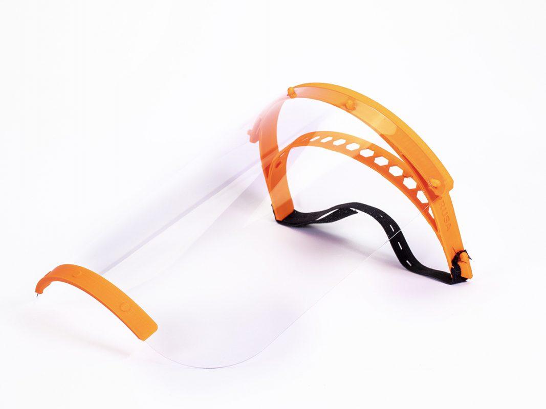 3d Yazıcıyla Siper Maske Üretimi
